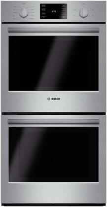 Bosch 500 Series HBN5651UC Double Wall Oven Stainless Steel, Main Image