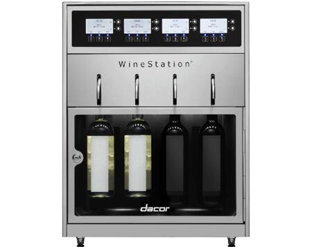 Dacor Discovery DYWS4 Wine Cooler 25 Bottles and Under Stainless Steel, Main Image