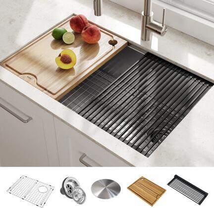 Kraus Kraus KWU11027 Sink Stainless steel, ard0kosbwyzntadbzupm
