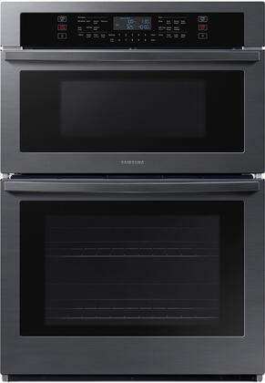 Samsung  NQ70T5511DG Double Wall Oven Black Stainless Steel, NQ70T5511DG Microwave Combination Wall Oven
