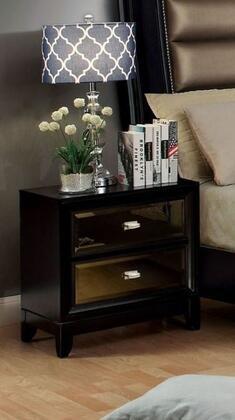 Furniture of America Golva CM7295N Nightstand Black, 1