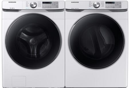 Samsung  1010824 Washer & Dryer Set White, 1