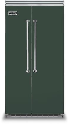 Viking 5 Series VCSB5423BF Side-By-Side Refrigerator Green, VCSB5423BF Side-by-Side Refrigerator