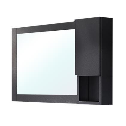 203129-MC-BR Mirror Cabinet-Wood-Black-Right