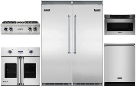 Viking 5 Series 977770 Kitchen Appliance Package & Bundle Stainless Steel, main image