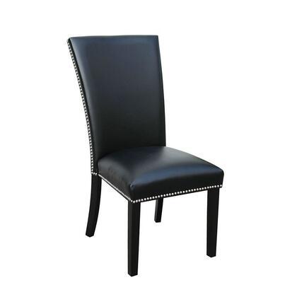 Steve Silver Camila CM420SKN Dining Room Chair Black, Main Image