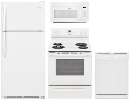 Frigidaire 850560 Kitchen Appliance Package & Bundle White, Main image