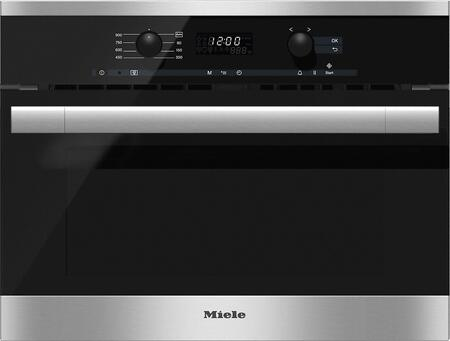 Miele  M6160TC Built-In Microwave Stainless Steel, M6160TC Built-In Microwave Oven