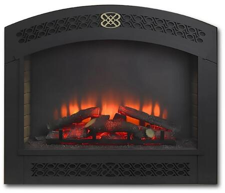 Outdoor GreatRoom Gallery FAF34 Outdoor Fireplace Black, Main Image