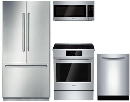 Bosch Benchmark  903265 Kitchen Appliance Package Stainless Steel, main image