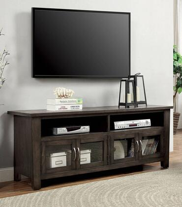 Furniture of America Alma CM5903TV60 52 in. and Up TV Stand Gray, Main Image
