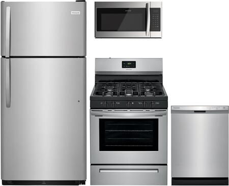 Frigidaire  1357668 Kitchen Appliance Package Stainless Steel, Main image