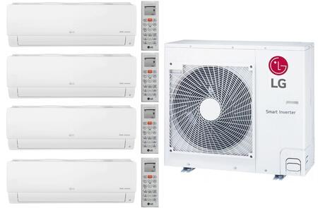 LG 961654 Quad-Zone Mini Split Air Conditioner, Main Image