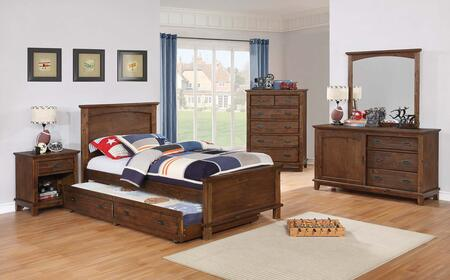Coaster Kinsley 6 Piece Full Size Bedroom Set