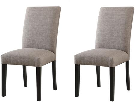 Acme Furniture Gregory 59752 Dining Room Chair Gray, 1