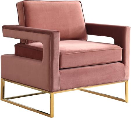 Meridian Noah 511PINK Accent Chair Pink, Main Image