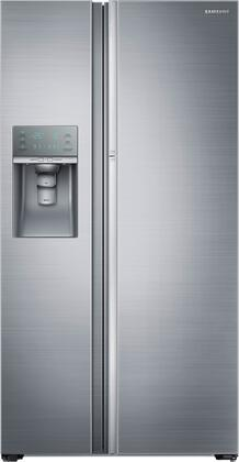 Samsung  RH22H9010SR Side-By-Side Refrigerator Stainless Steel, Front View