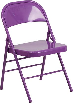 Flash Furniture Hercules HF3PURGG Folding Chair Purple, 1