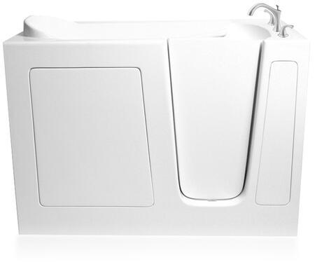 EZWT-3054-SOAKER-R Walkin Soaker Bath Tub with Right Side Drain and ADA Compliant in