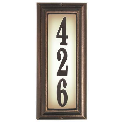 Qualarc Edgewood LTV1303AC Address Plaques, LTV 1303 AC