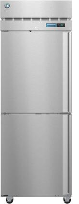 R1A-HSL 28″ Steelheart Series One Section Half Door Reach-In Refrigerator with 23.1 cu. ft. Capacity  3 Adjustable Shelves  4″ Casters and LED
