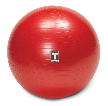 Body Solid Body Solid Tools BSTSB65 Fitness Ball Red, Main View