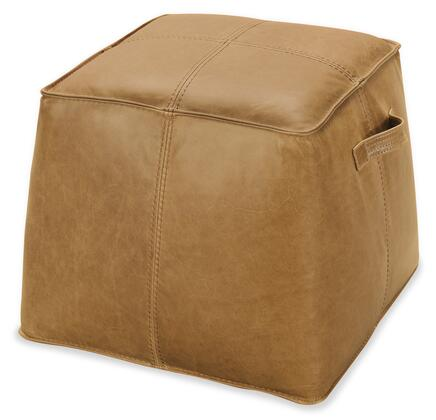 Hooker Furniture CO Series CO478086 Living Room Ottoman Brown, Silo Image