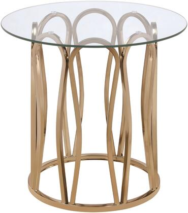 Coaster Occasional Groups 708057 End Table Gold, End Table