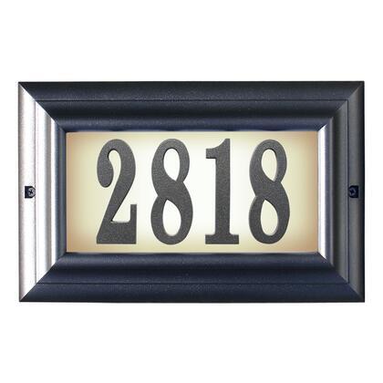 Qualarc Edgewood LTL1301PW Address Plaques, LTL 1301 PW