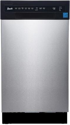 Avanti DW1833D3SE Built-In Dishwasher Stainless Steel, Main Image