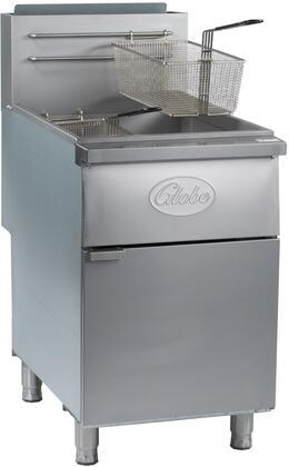 Globe GFF80PG Commercial Fryer Stainless Steel, Main Image