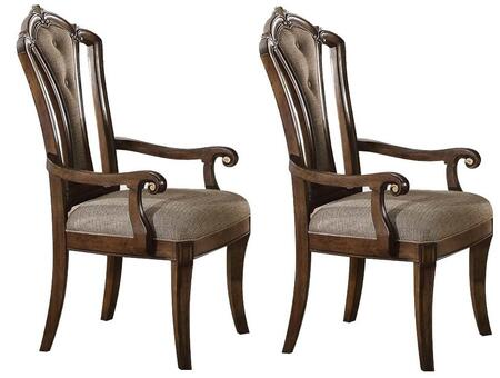 Acme Furniture Valletta 66173 Dining Room Chair Brown, 66173 Set
