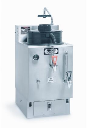06325.0002 SRU 120/240V 3 Gal(11.4L) Automatic Electric Coffee Urn with Large Water Tank  Half-batch Option  in Stainless -  Bunn-O-Matic, 063250002