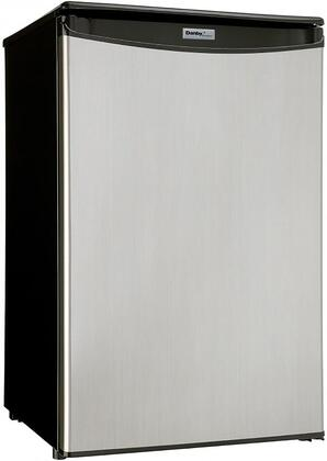 DAR044A4BSLDD-6 21″ Compact Refrigerator with 4.4 cu. ft. Capacity  Automatic Defrost  Tempered Glass Shelves and CanStor Beverage Dispensing System