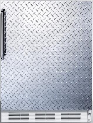 AccuCold FF7BIADA FF7LBIDPLADA Compact Refrigerator Silver, Main Image