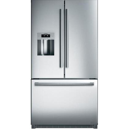 Bosch 800 Series B26FT70SNS French Door Refrigerator Stainless Steel, B26FT70SNS