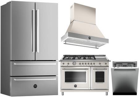 Bertazzoni 1128190 Kitchen Appliance Package & Bundle Stainless Steel, Main image