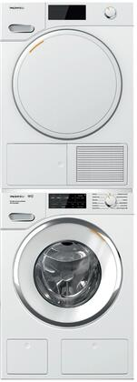 Miele 1005779 Washer & Dryer Set White, Main Image