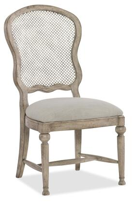 Hooker Furniture Boheme 575075411LTWD Dining Room Chair Gray, Silo Image