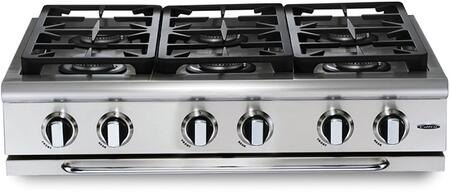 Capital Precision GRT366N Gas Cooktop Stainless Steel, 1