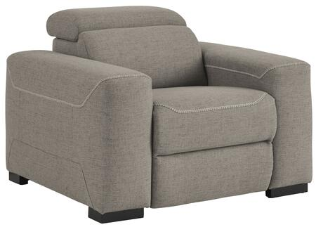 Signature Design by Ashley Mabton 7700513 Recliner Chair Gray, Main image