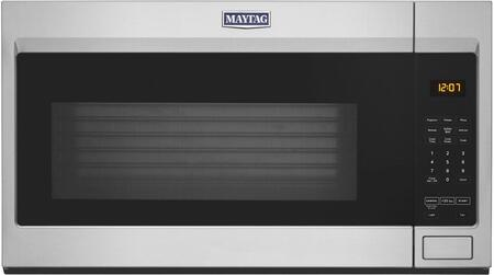 Maytag MMV1175JZ 30 Over-the-Range Microwave with 1.9 cu. ft. Capacity  1000 Watts  300 CFM and Mesh Filter in Fingerprint Resistant Stainless