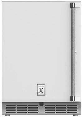 Hestan  GRWSL24WH Compact Refrigerator White, Main Image
