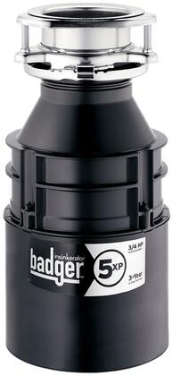 BADGER 5XP W/C Badger 5XP Continuous Feed Garbage Disposal with 3/4 HP  Badger 5XP Garbage Disposal  Quick Lock Sink Mount  with