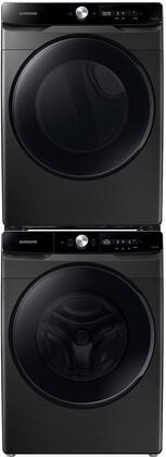 Samsung  1496545 Washer & Dryer Set Black, 1