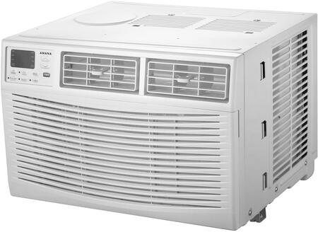 Amana 12,000 BTU 115V Window-Mounted Air Conditioner with Remote Control White