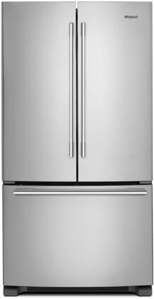 Whirlpool  WRFA32SMHZ French Door Refrigerator Stainless Steel, Main Image