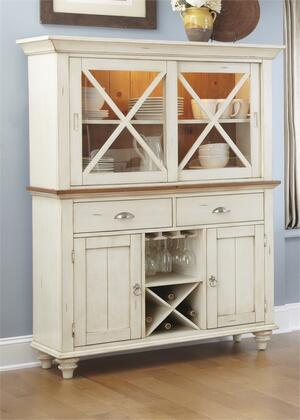 Liberty Furniture Ocean Isle 303CDHB China Cabinet White, Main Image