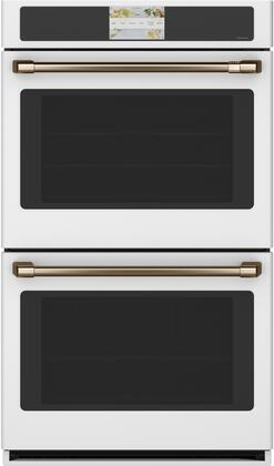 Cafe Matte Collection CTD90DP4NW2 Double Wall Oven White, CTD90DP4NW2 Double Wall Oven