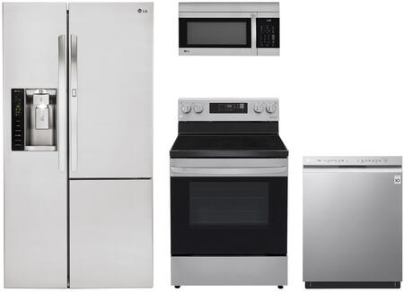 LG  1135230 Kitchen Appliance Package Stainless Steel, Main Image